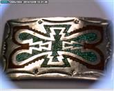 Silver Belt Buckle 925 Silver 33.9dwt